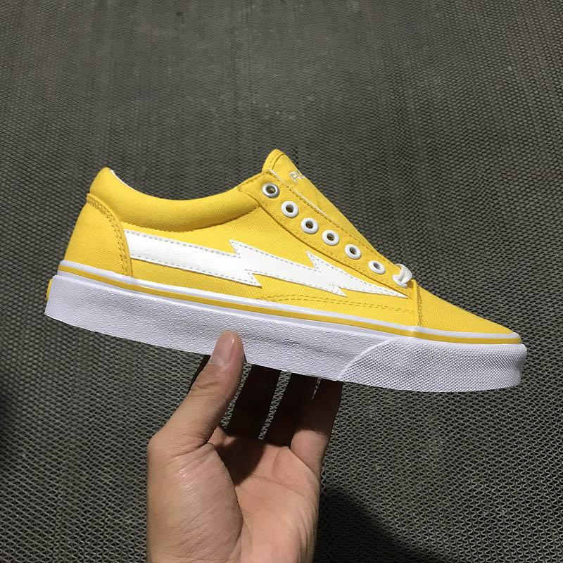 2019 NEW ARRIVAL REVENGE X STORM II VOL.1 LOW TOP YELLOW WHITE RXSTRMLT  PLDBLK PLAID BLACK GD128 INS CANVAS SKATEBOARD SNEAKERS HIP HOP From  Freedomfly b434150c7