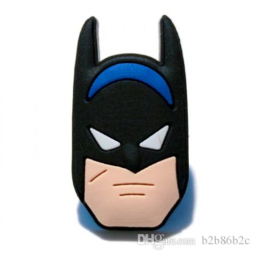 20+ Cool Avenger Hero Cartoon PVC Badges Brooches Button Clothes/Bag/Shoes Packed by Gift Bag Decorations Kid Party Gift Accessory Badges