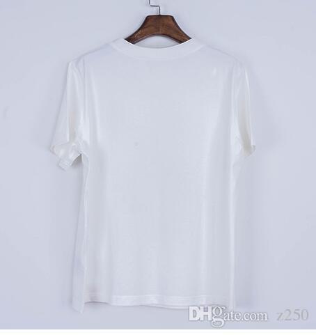 NEUE 2018 Neue Mode Buchstaben T-shirts Männer FRAUEN CartoonT Shirt O Hals Kurzarm Tops Baumwolle T-shirt Jungen Mädchen Lustige T-shirt