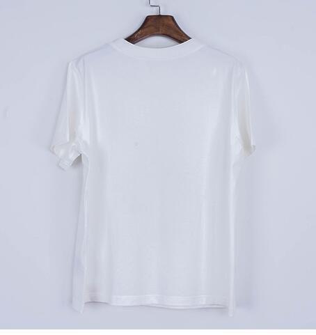 NOVITÀ 2018 New Fashion Letters T-shirt Uomo DONNE CartoonT Shirt O Neck Manica corta T-Shirt in cotone Boy Girl Divertente Tshirt