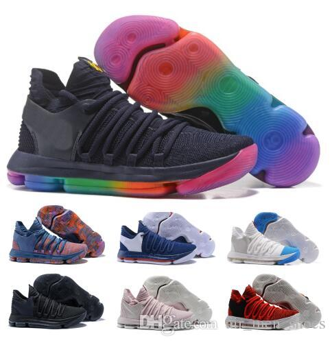 finest selection 8c2c5 40ab3 Sale Kd 10 Basketball Shoes Mens Red Kevin Durant 10s X Pure Platinum BHM  Oreo Triple Lmtd City Series Features Original Shoe Sneakers Womens  Basketball ...