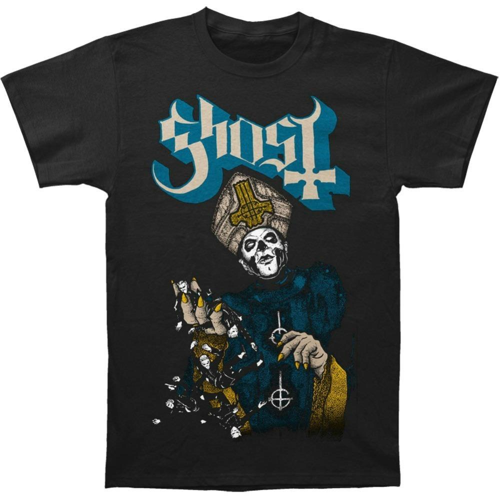 Custom T Shirts Cheap Printing Machine O-Neck Short-Sleeve Ghost B.C Papa Of The World On Fire T Shirts For Men