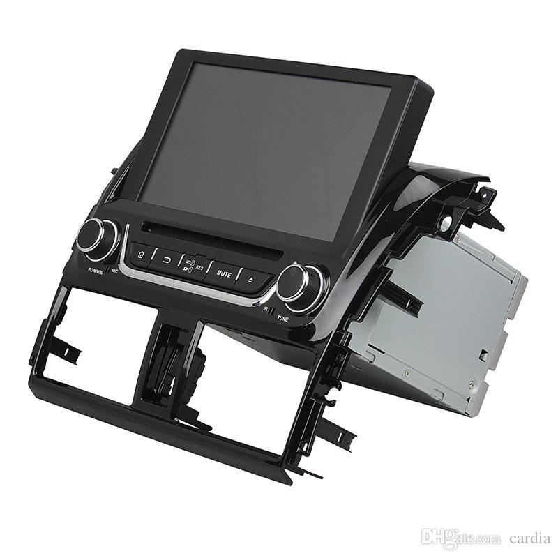 Reproductor de DVD del coche para Toyota Yaris 8 pulgadas 4 GB RAM Andriod 8.0 Octa core con GPS, control del volante, Bluetooth