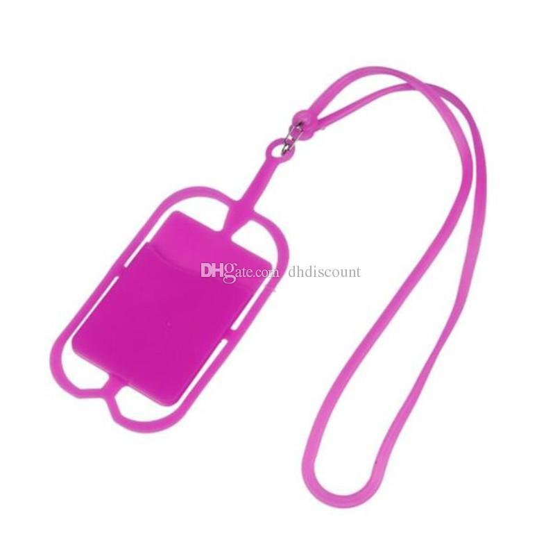 Portachiavi in silicone Portachiavi Collana Portachiavi Portachiavi iPhone Samsung Huawei Universal Mobile Phone
