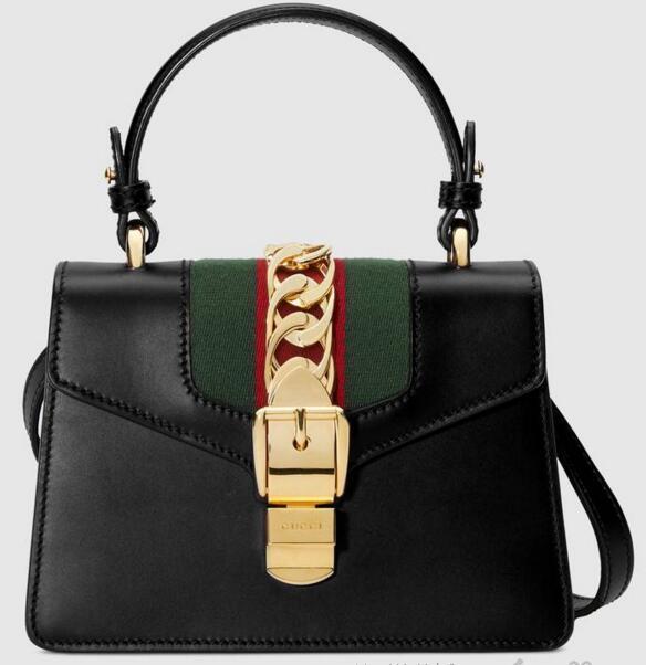 8a35173085 Sylvie Leather Mini Bag 470270 Women Fashion Shows Shoulder Bags Totes  Handbags Top Handles Cross Body Messenger Bags Ladies Purses Fashion Bags  From ...