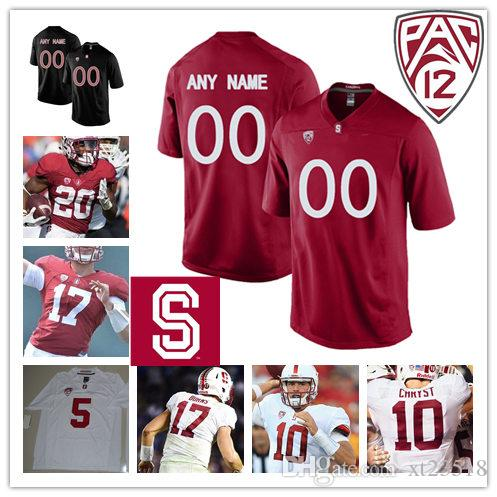 7d5889c66517 2019 Mens NCAA Pac 12 Stanford Cardinal Keller Chryst College Football  Jerseys Bryce Love Ryan Burns K. J. Costello Stanford Cardinal Jersey S 3X  From ...
