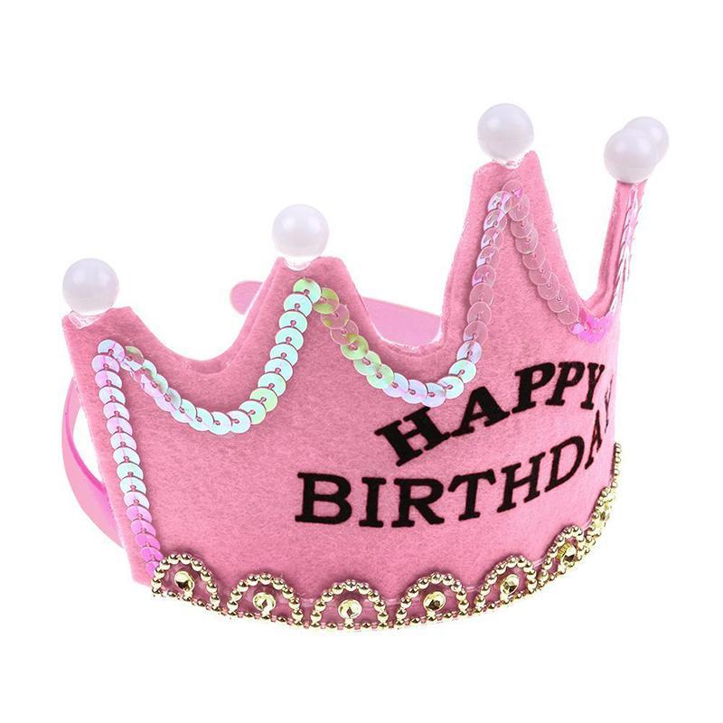 Принцесса корона cap день рождения happy party украшения девушка украшения день рождения шляпа