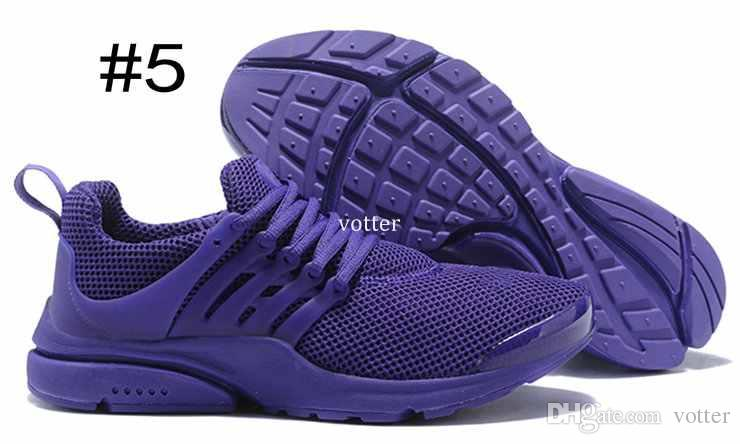 2018 Presto Running Chaussures Pour Hommes Femmes Ultra BR QS Jaune Prestos Fly Blackout Blanc Oreo Outdoor Jogging Hommes Trainers Air Sneakers