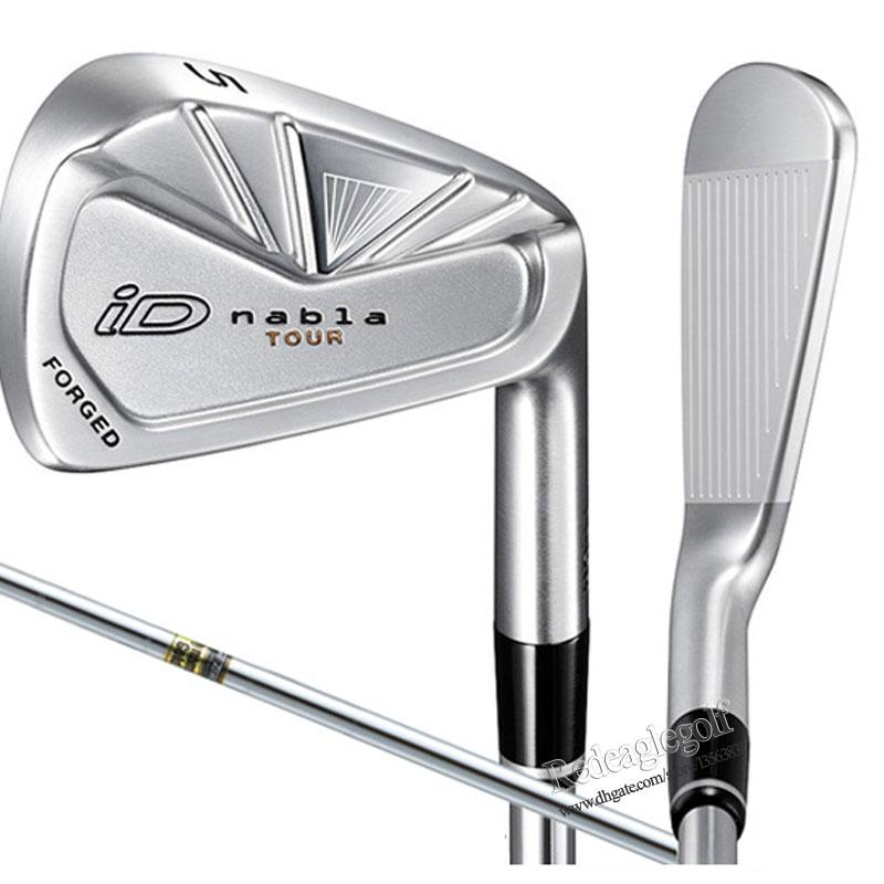 New Golf Clubs PRGR iD Nabla TOUR japan Golf Irons set 4-9p Golf Dynamic Gold R300 Steel shaft with irons Grips Free shipping