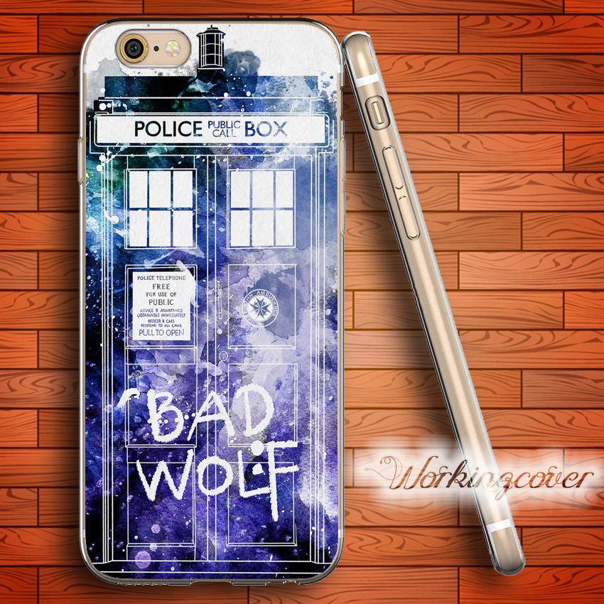 Cellphones & Telecommunications Doctor Who Police Tpu Silicone Phone Case For Iphone 5 5s 6 6s 7 8 Plus X Xr Xs Max Outstanding Features