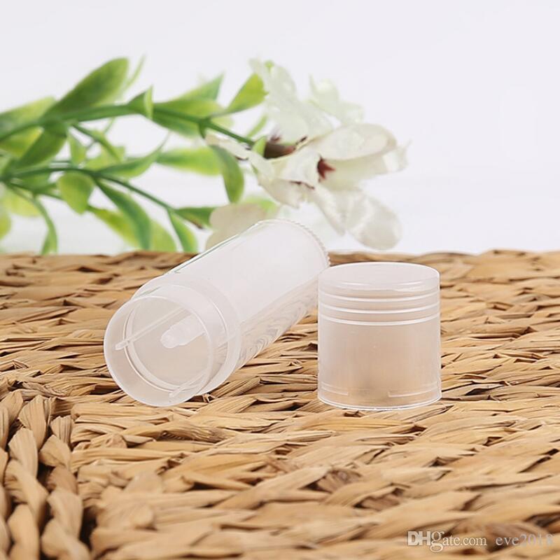 1000 Pçs / lote 5 ml Cosméticos Vazios Chapstick Lip Gloss Batom Bálsamo Tubo + Caps Recipiente Atacado LX2398