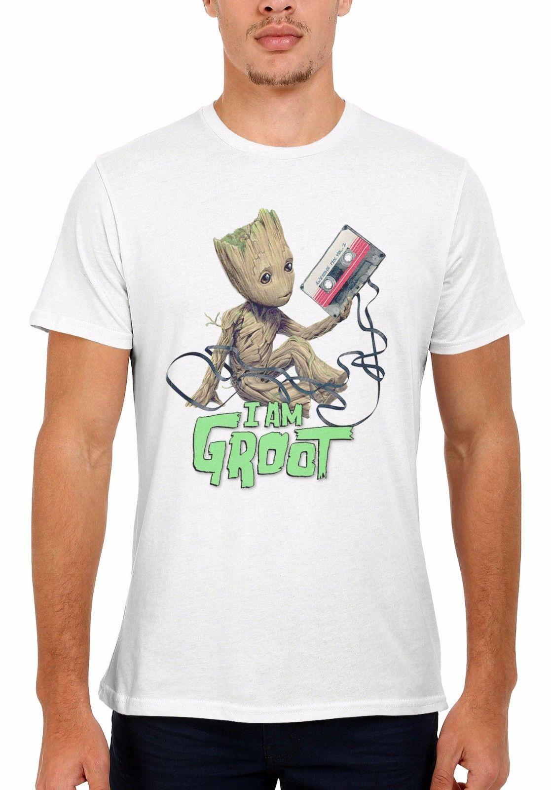 Großhandel Baby Groot Wächter Der Galaxie 2 Männer Frauen Weste Tank Top  Unisex T Shirt 1943 Print Tee Männer Kurzarm Kleidung Top Tee Von Baishi4,  ... aecd802d1b