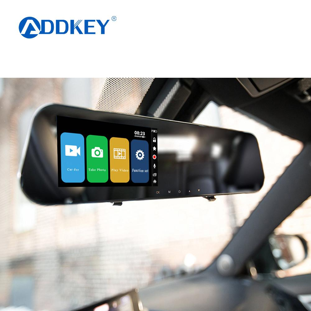 car dvr Dash Cam Dual Dashboard Camera Recorder Touch Screen Front RearView  Mirror HD Camera Night Vision Parking Monitor