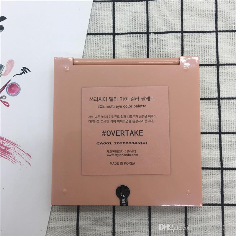 Nuovo Disponibile 3CE ombretto Sorpassi ombretto e HANDAIYAN e tavolozza terra zucca di trucco dell'ombretto nudo