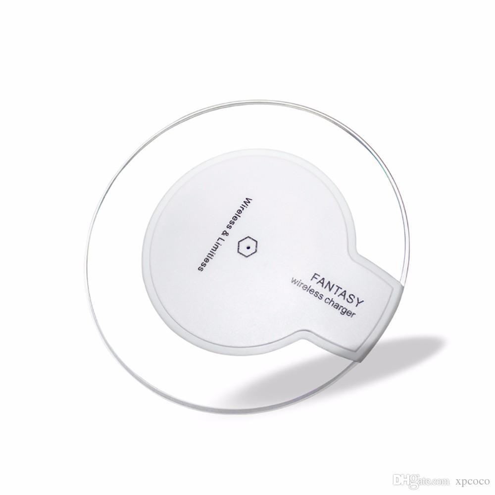 2017 yeni qi kablosuz şarj hızlı şarj için iPhone x ve Samsung cep telefonu 5 V / 2000 mAH 9 V / 1600 mAH