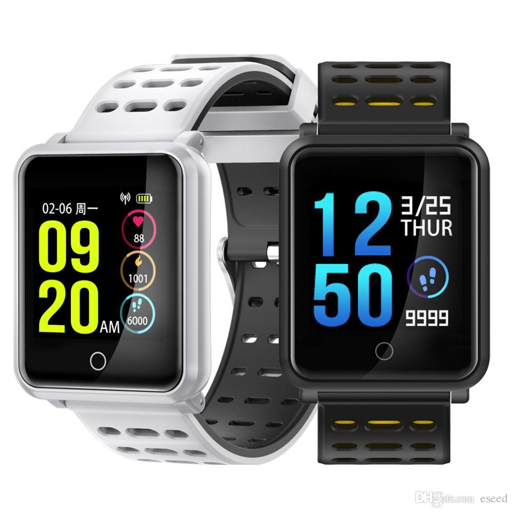 N88 Smart Watch Men Smartwatch Women Waterproof Heart Rate