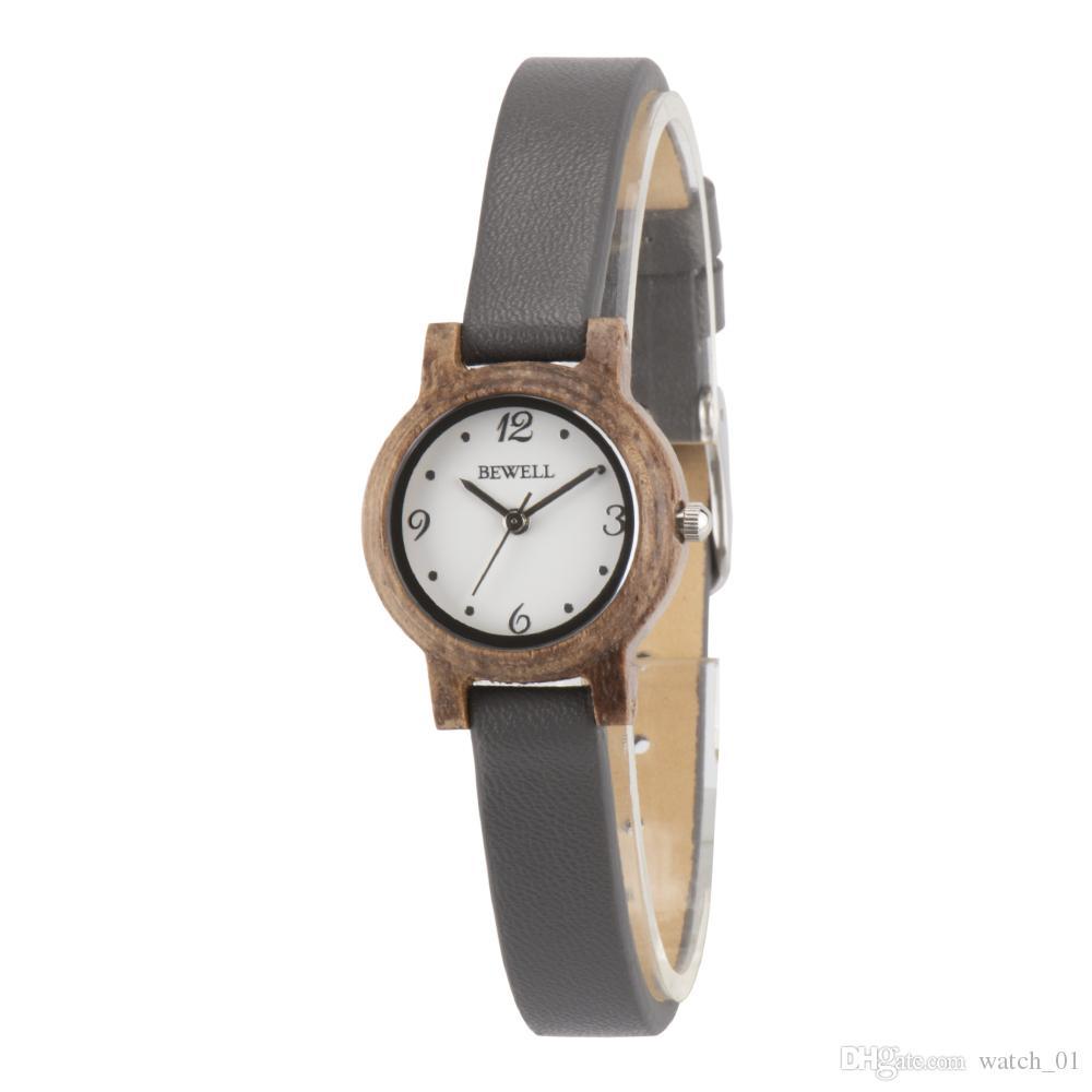 0e3905784a6 Compre 2018 Relógios De Madeira Que Tendem Os Relógios Unisex Originais Do  Estilo Com Projeto Durável Inferior De Aço De Watch 01