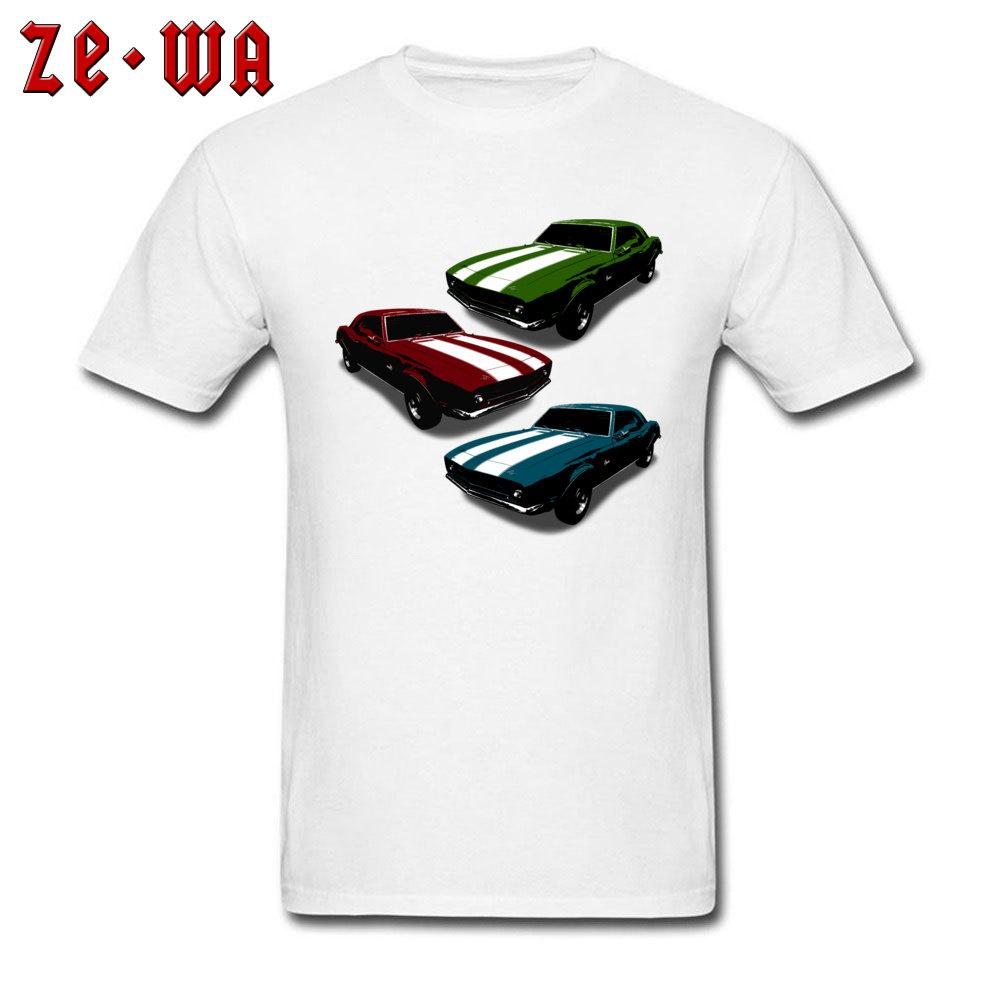 Parked Trio Jdm Tshirt Classic Muscle Car T Shirts For Men Cool