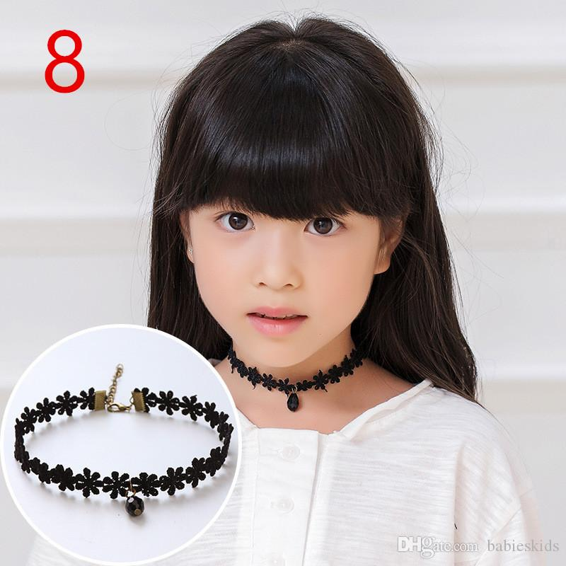 Fashion Style Girl Choker Stretch Women Girl Necklace Black Leather Rope Chain Layer Chocker Necklaces Decorate Hot Jewelry Gift