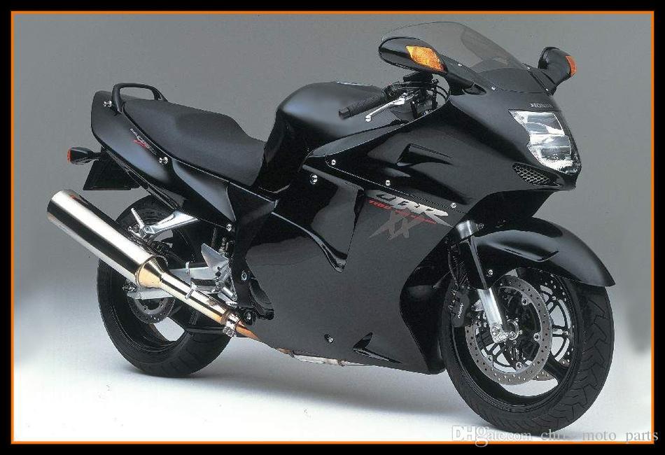 Black Hulls For Honda CBR1100XX 1997 2007 Complete Plastic Bodywork