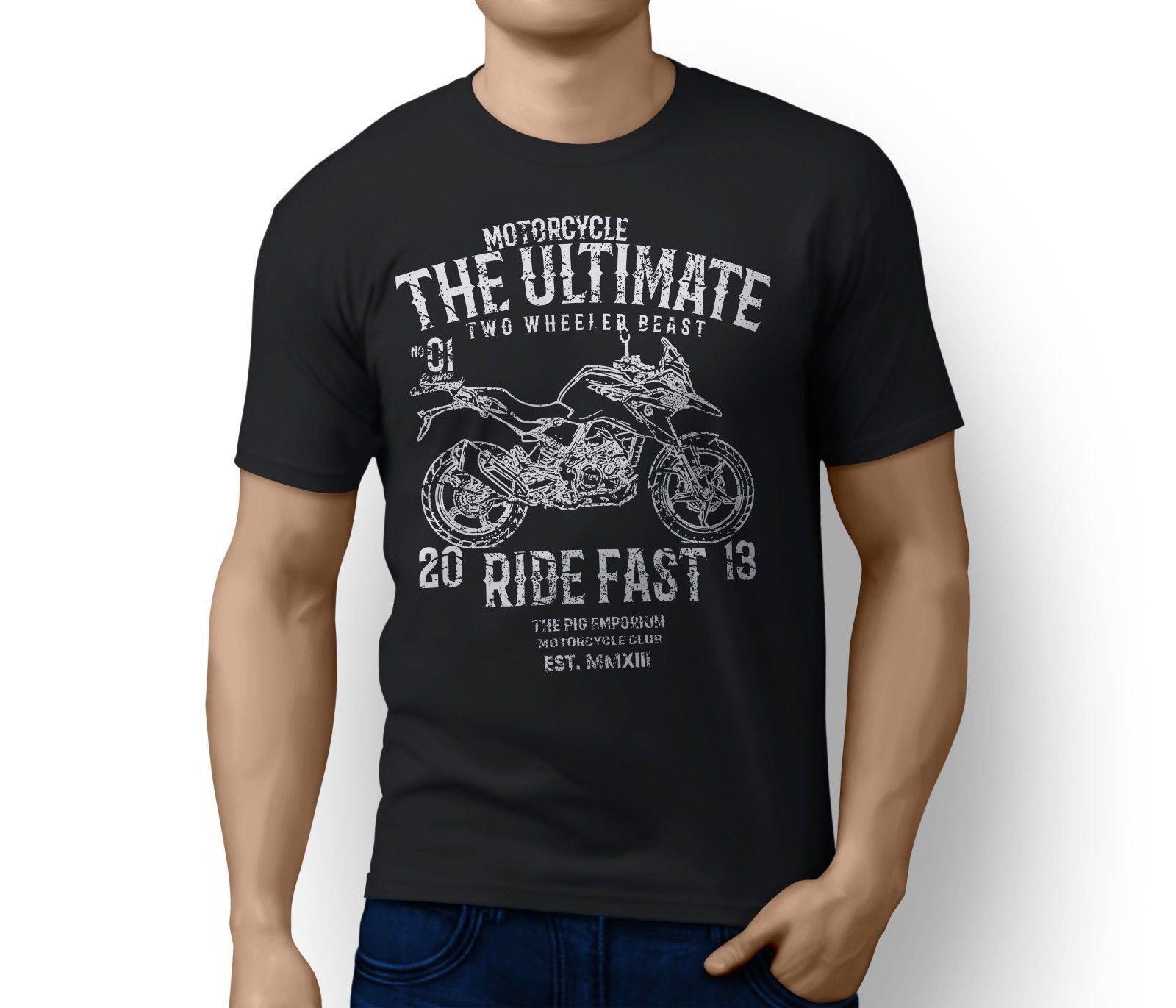 b356c5cb6 Details Zu RH Ultimate G310 GS Inspired Motorcycle Art T-shirt Funny ...