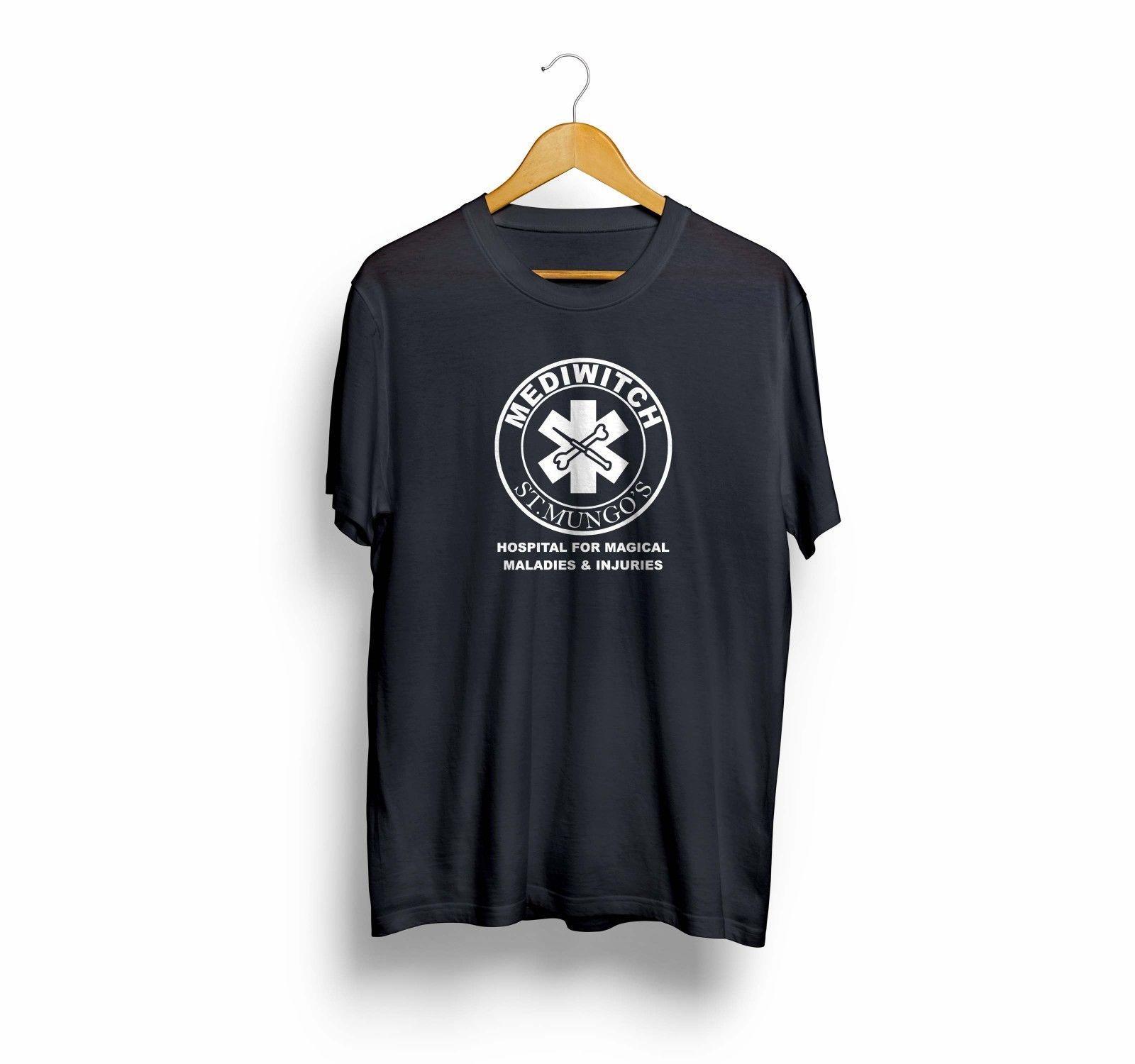 4047a810d24 Harry Potter Nurse Doctor Gift For Harry Potter Men & Women T Shirt T Shirt  Tees Funny T Shirt Men Tees Men 100% Cotton High Quality Tops Cool Tee  Shirts ...