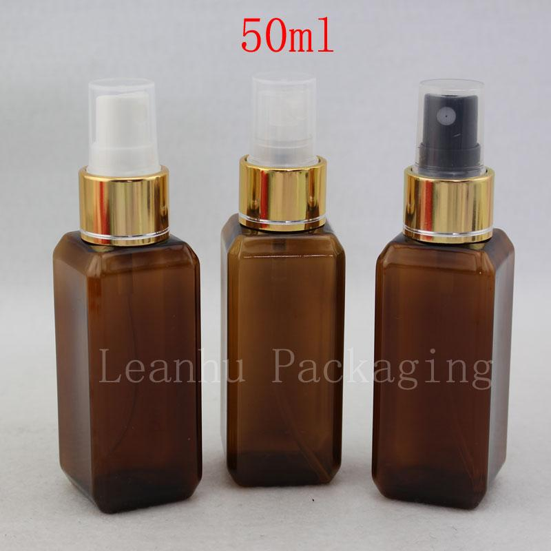 0b1fb49ab5540 50ml X 50 Brown Perfume Mist Spray Bottle