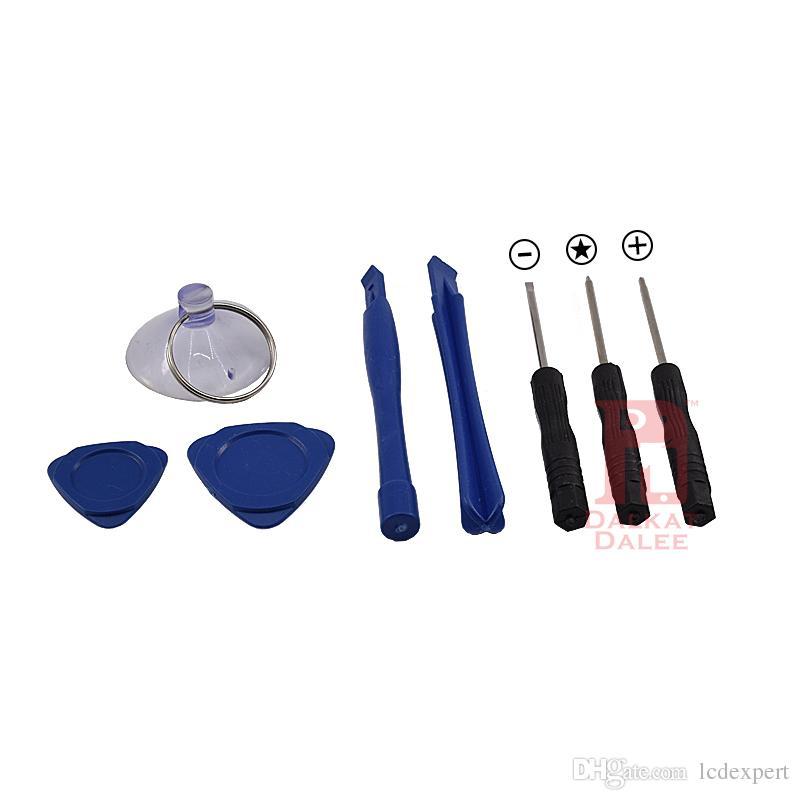 8 em 1 Reparação Pry Kit de Ferramentas de Abertura Com 5 P10 Star Point Torx Chave De Fenda Para APPLE iphone 4S 5 6 6 S Plus