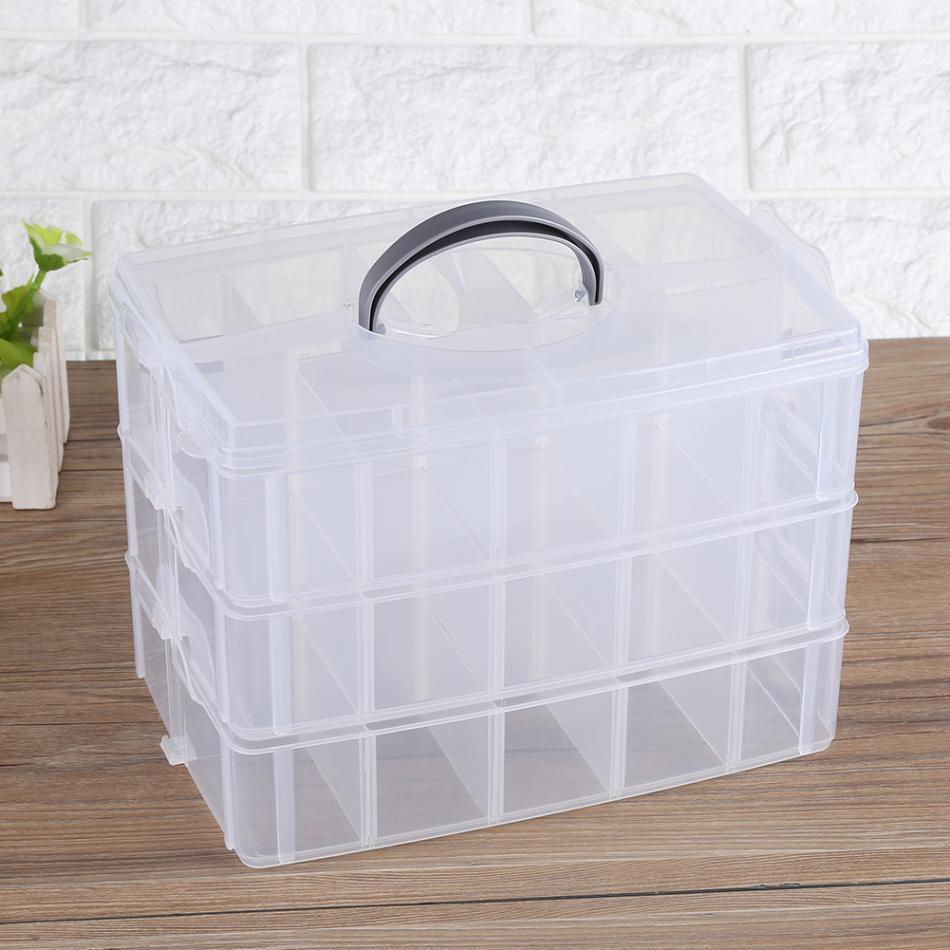 2018 China Storage Box Suppliers Plastic Jewelry Bead Storage Box