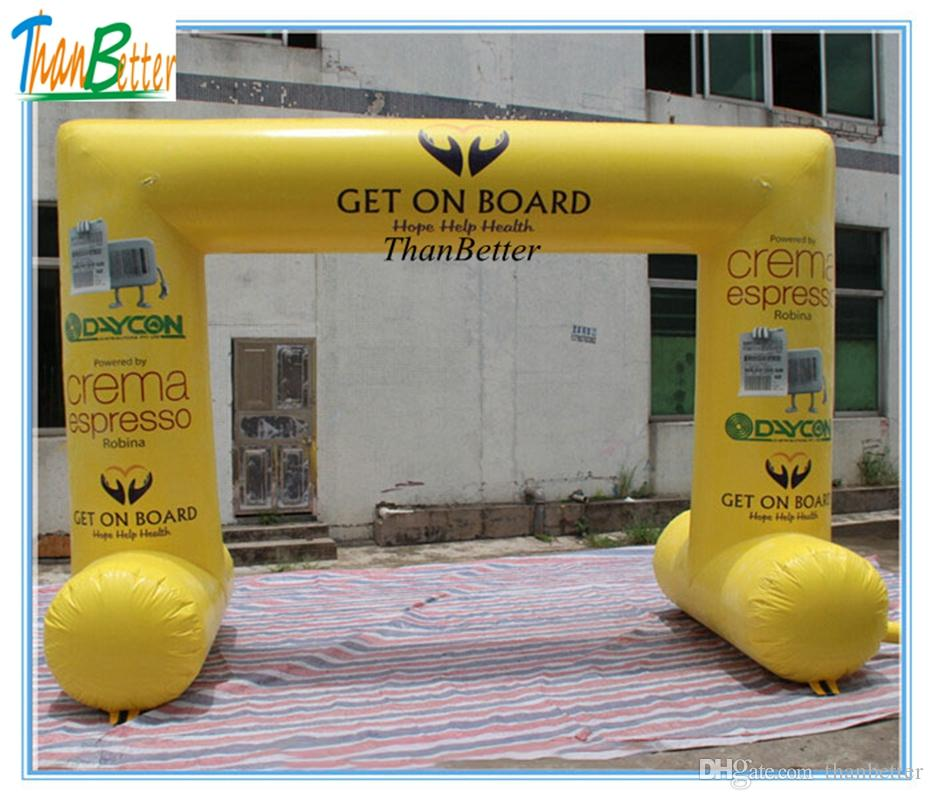 ThanBetter outdoor inflatable Event Entrance Arch/ custom inflatable archways for event