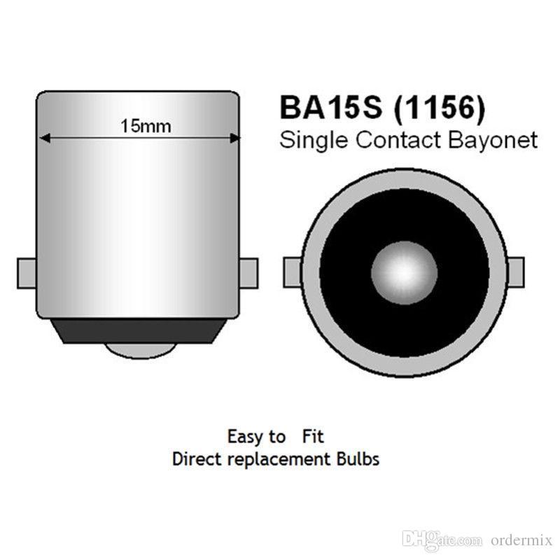 1156 P21W 7056 BA15S 33 smd 5630 5730 führte Auto-Bremslicht-Nebelbirnen-Selbstrücklicht-Tagfahrlicht rotes weißes Gelb 12V
