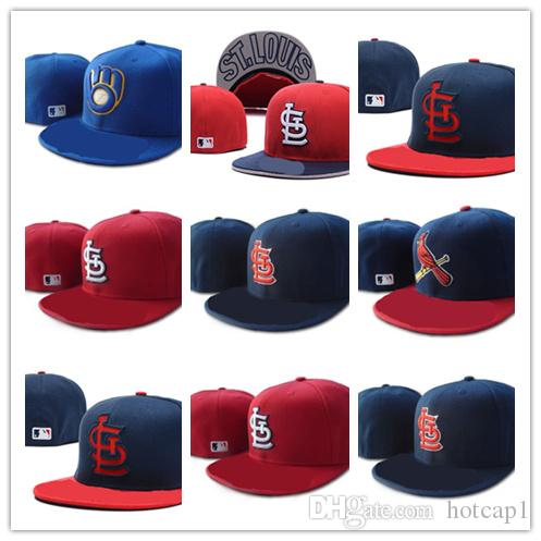 New Fashion top Sale SLC Fitted Hats Baseball Fitted Hats Mens,Sport Hip  Hop Fitted Caps Womens,Fashion Cotton Casual Hats