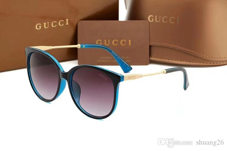 2018 Hot Sale! New Fashion Luxury Sunglasses Lady Famous Brand Designer  Promotional Discount Top Quality Wholesale Sunglases Cheap Designer  Sunglasses From ... 09e234460485