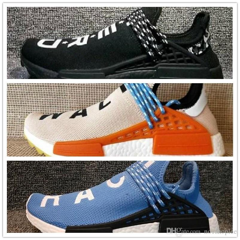 a10f6a654 2018 Human Race Pharrell Williams Running Shoes Classic Men Women ...