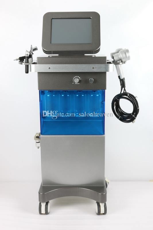미국 인기있는 Hydrafacial 스킨 스파 시스템 산소 워터 제트 껍질 Hydra 얼굴 산소 스프레이 건 하이드로 Dermabrasion PDT LED 라이트 테라피 기계
