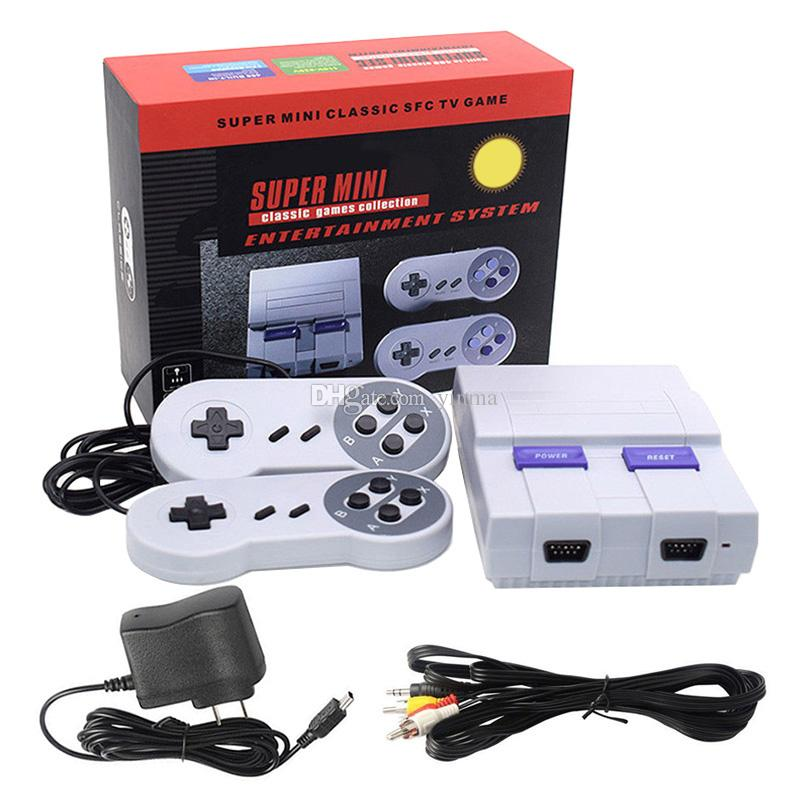 0586aefd982d 2019 Super Mini Retro TV Video Game Console 400 660 Classic Games Game  Console For SFC NES Entertainment System From Yinma