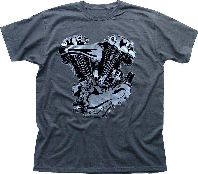 93cbc61b3a V Twin Motorcycle Engine Harley Indian GREY T Shirt 0209 Cool Casual Pride T  Shirt Men Unisex New Fashion Cool T Shirts Design Designs Shirts From ...