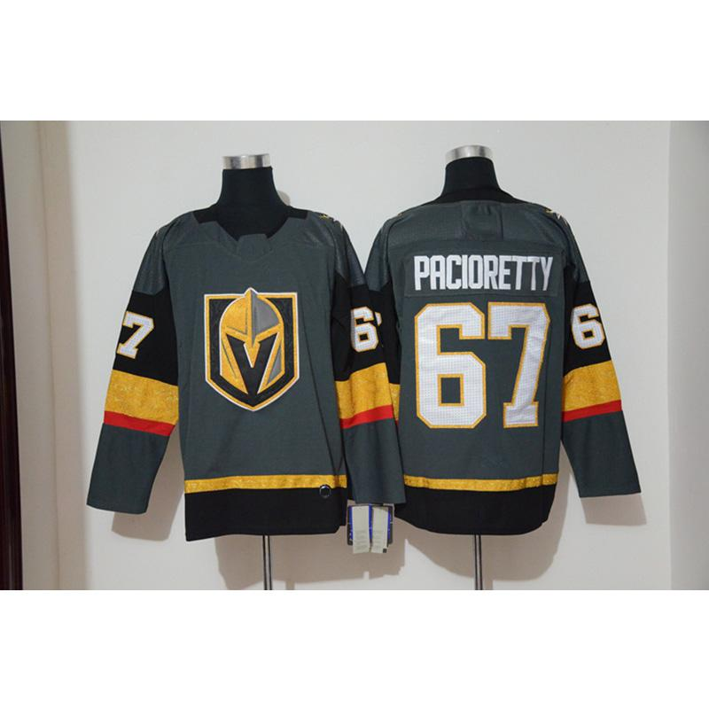 best sneakers 7f3ed ea18e Mens Vegas Golden Knights Max Pacioretty Home Away Red White Hockey Jersey  All Players In