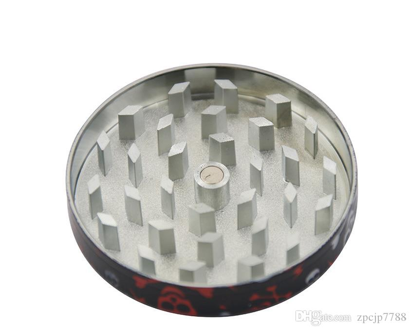 Package flower, four layer cigarette lighter, 50MM mixed color vertical plate, zinc alloy color flower smoke cutter.