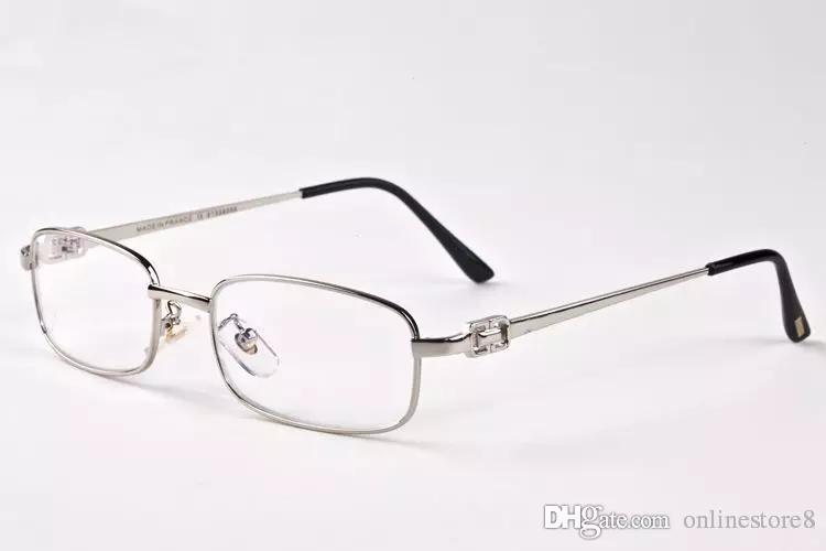 NEW Arrival Fashion Men Brand Plain Mirror Sunglasses Reading Eyeglasses Frame Spectacle Glasses Gafas Homme