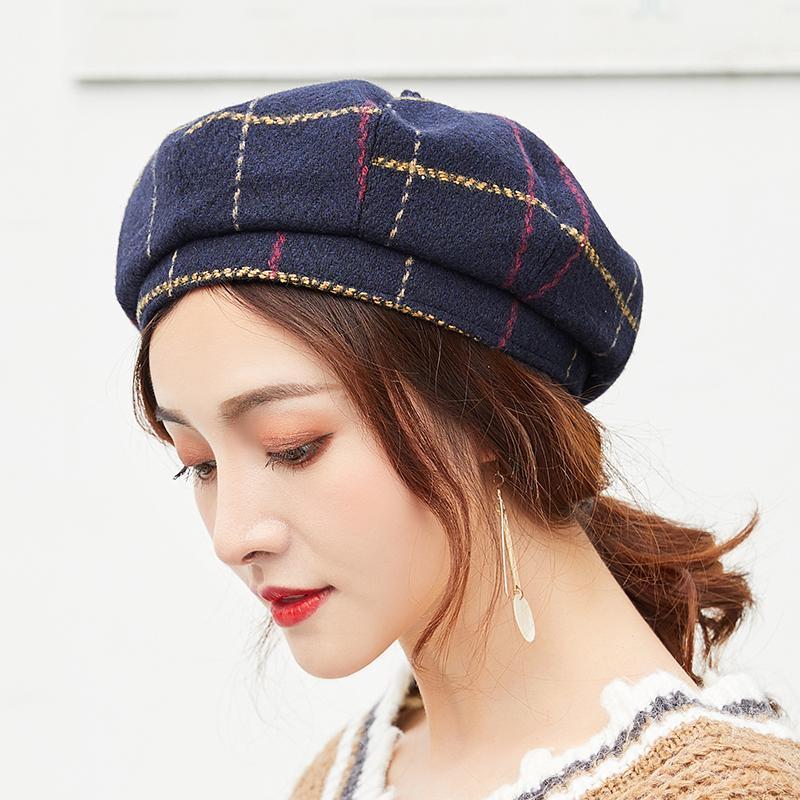 Großhandel 2018 Neue Mode Männer Frauen Gatsby Newsboy Cap ...