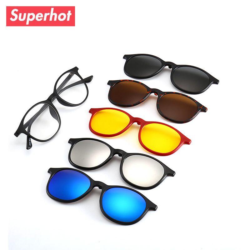 e6206bf573 Superhot Magnetic Sunglasses Women Clip On Sunglass Men Polarized High  Quality Rectangle Eyewear Night Vision Prescription Glass Canada 2019 From  ...