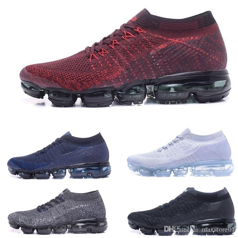 Man 2018 Running Shoes Men Women Classic Outdoor run Black White Shock Jogging Walking Hiking Sports Athletic designer Sneakers