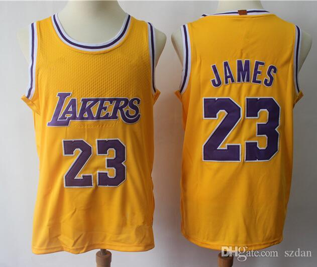 Acquista Ho Tsell Uomo Youth Kids Los Angeles Lakers 23 Lebron James 77  Luka Doncic 18 The City Maglie Basket S Xxl A  45.97 Dal Szdan  9beafedfbb7c