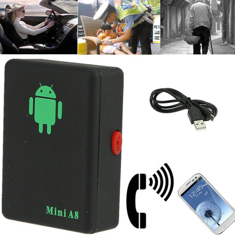 Mini A8 Real Time Tracker Spy Locator Global Car Kids Pet