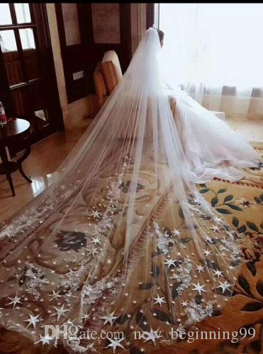 Diy Wedding Veil.4m Cheap Bridal Wedding Veils Lace Vintage White Ivory Tulle Wedding Bridal Veil Events Wedding Formal Appliques 08