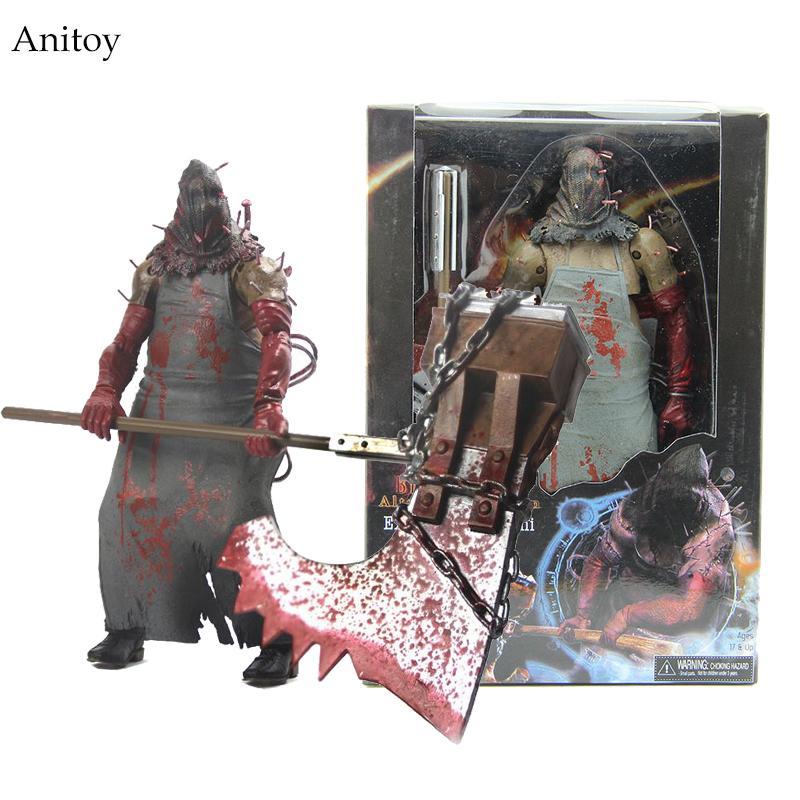 NECA Resident Evil Biohazard Execução Majini 7 PVC Action Figure  Collectible Toy Modelo Presente WF054