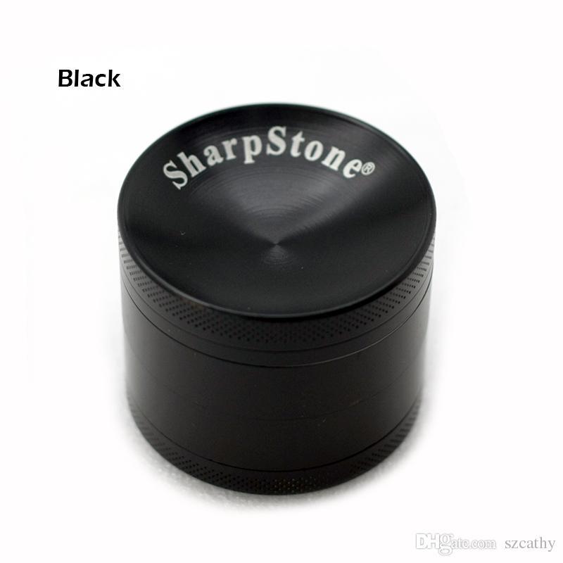 SharpStone Concave Grinders Herb Spice Crusher 40mm 50mm 55mm 63mm Metal Grinder 4 Strati in lega di zinco Materiale OEM Benvenuto