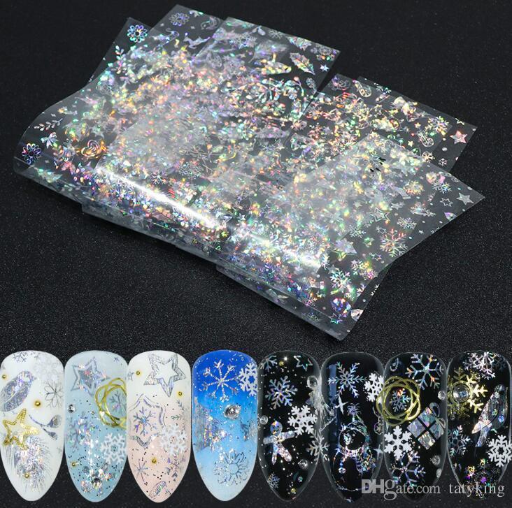 Tatyking New Nail Art Star Stickers Nail Art Decorations Nail