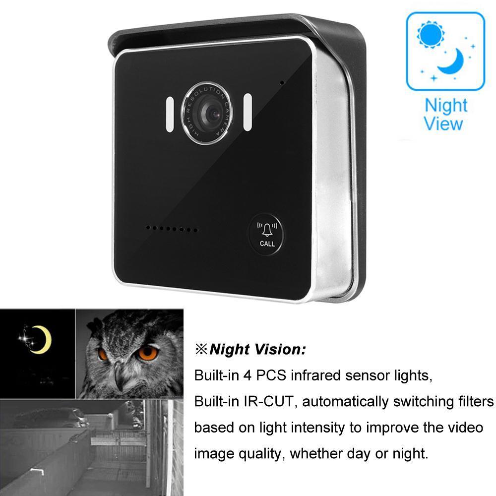 großhandel 720p wifi video türklingel kamera hd 120 grad objektiv